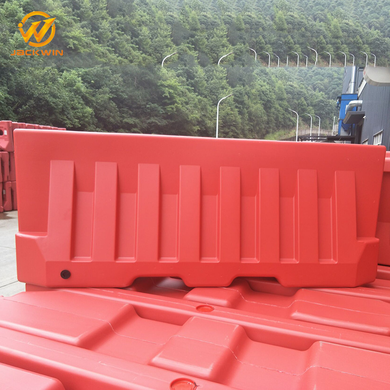 [Hot Item] 2m Red Barrier Long Life Traffic High Vis Water Barriers Road  Plastic Fence Barrier