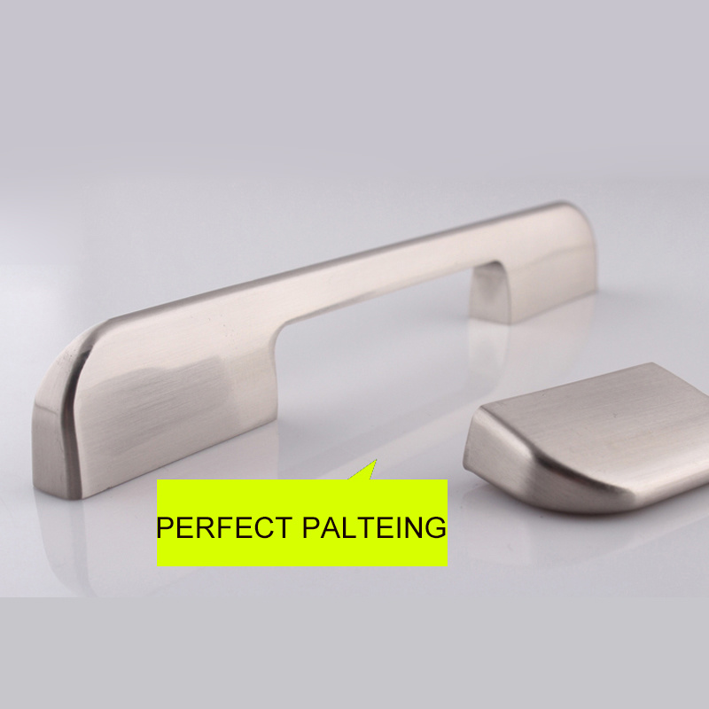 China Anodized Brushed Aluminum Alloy Kitchen Cabinet Door Handles Photos Pictures Made In China Com