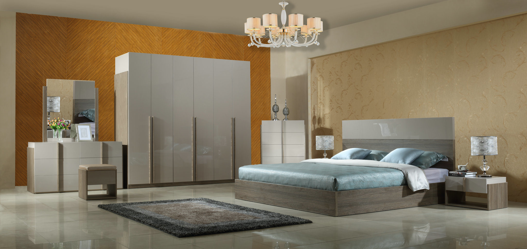 [Hot Item] Modern Simplicity Bedroom Furniture Set with High Quality