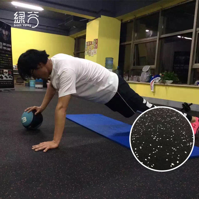 China Non Slip High Quality Rubber Roll Gym Floor Mat Used Rubber