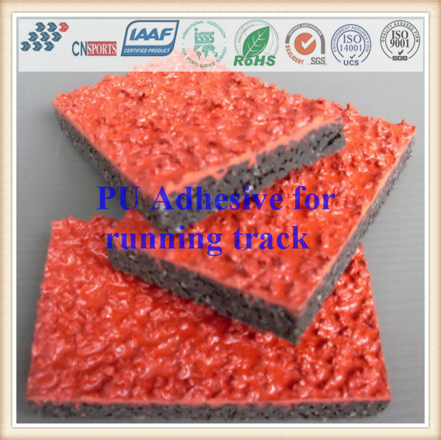 Single Component PU Adhesive for Rubber Runway/Running Track pictures & photos