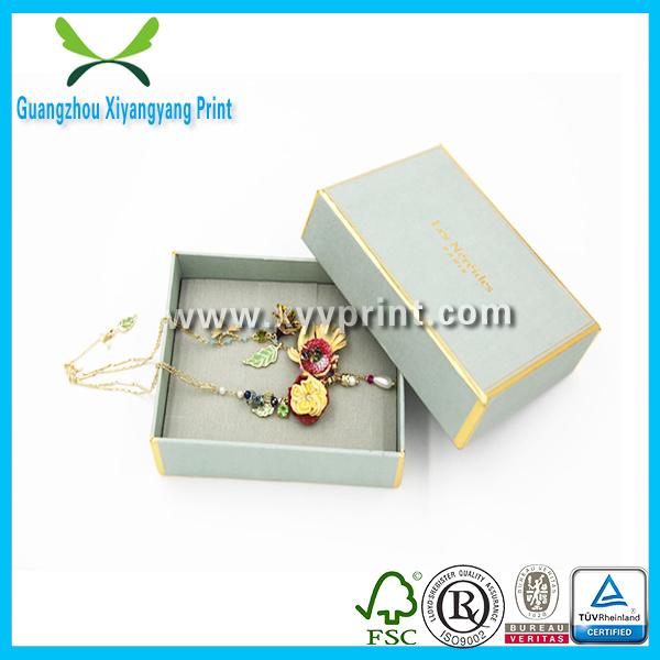 China Wedding Leather Jewelry Box Wedding Card Gift Box For Jewelry