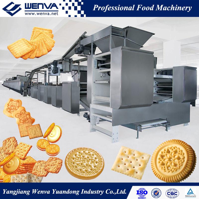 China Wenva Multi-Purpose Plant Biscuit Production Line