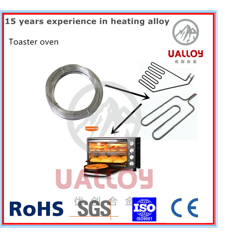 China Nichrome Ni80cr20 Heating Resistance Wire for Toaster Ovens ...