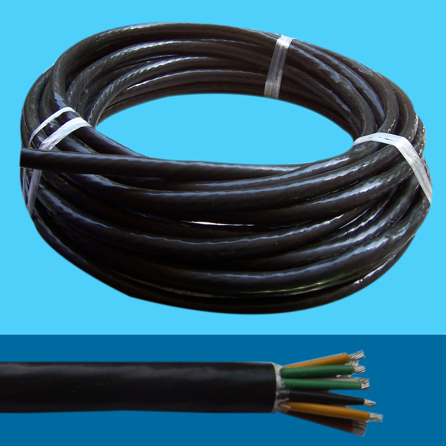 China Multi Core Control Soft Cable with Cu Core PVC Insulation and ...