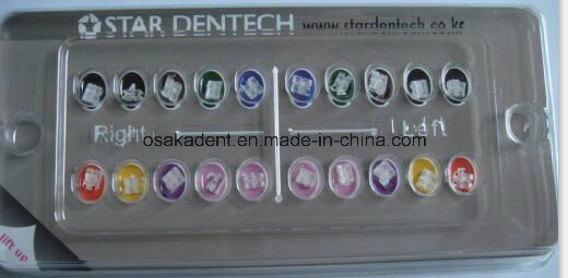 Hot Sell Roth Sapphire Ceramic Bracket/Dental Orthodontic Material