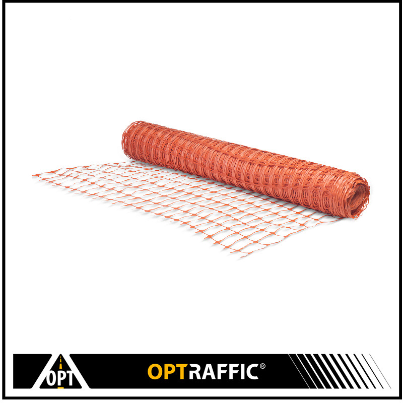 Plastic Snow Fence For Construction And Work Zone Security Guardian Safety Plastics