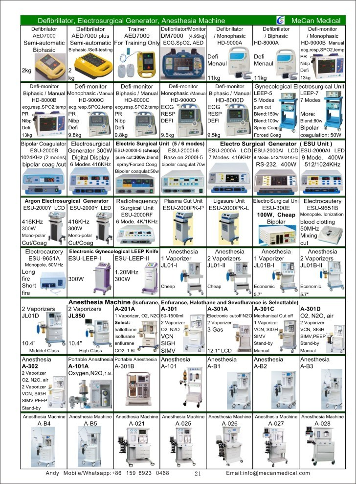 Have Stock in Factory Hospital Medical Equipment Price List pictures & photos