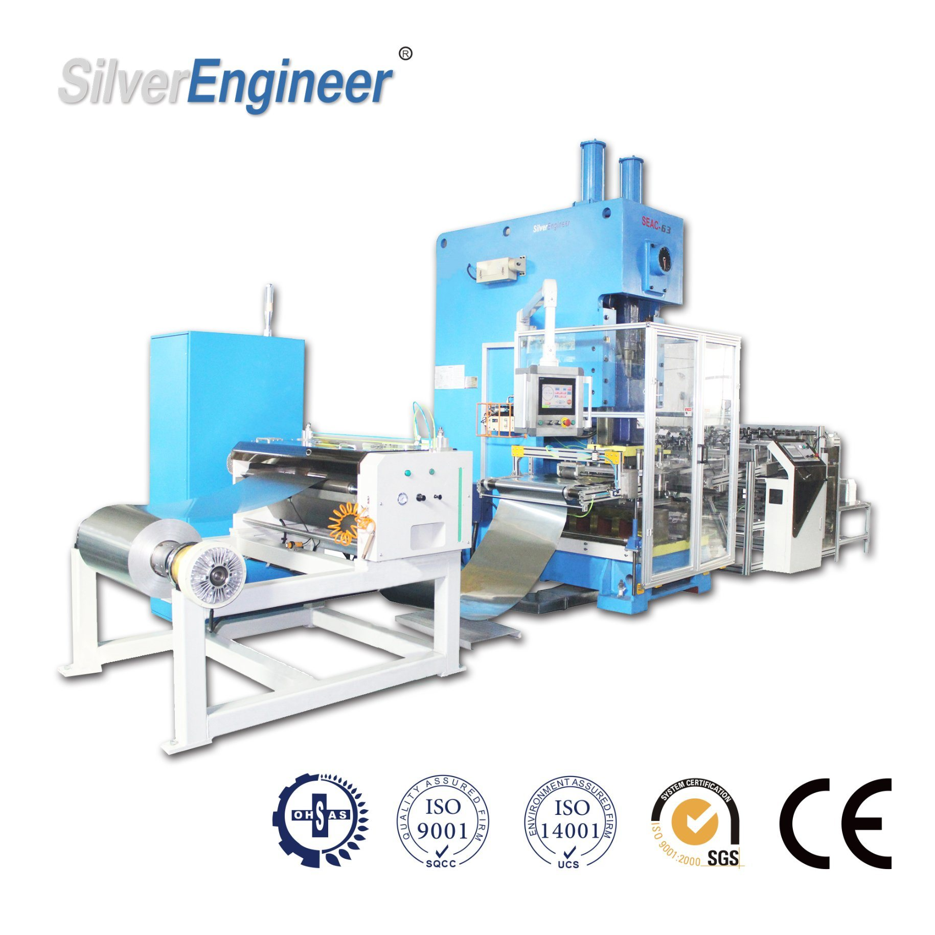 China Manufacturers Smart Aluminum Foil Container Making Machine From Silverengineer