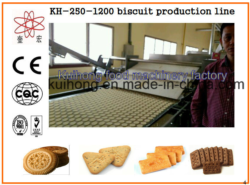 Kh Ce Approved Biscuit Making Machine Industry pictures & photos