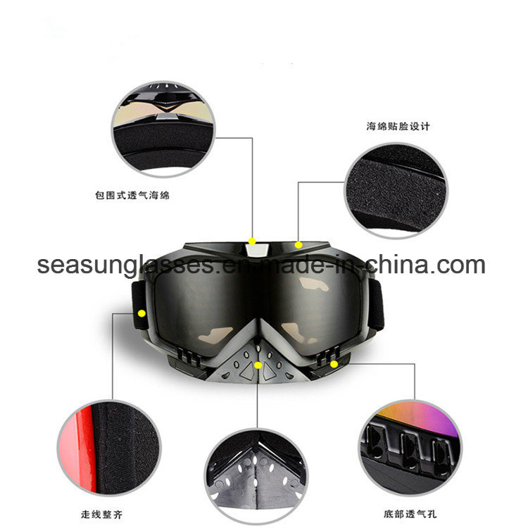 China Factory Best Selling Motorcycle Goggles
