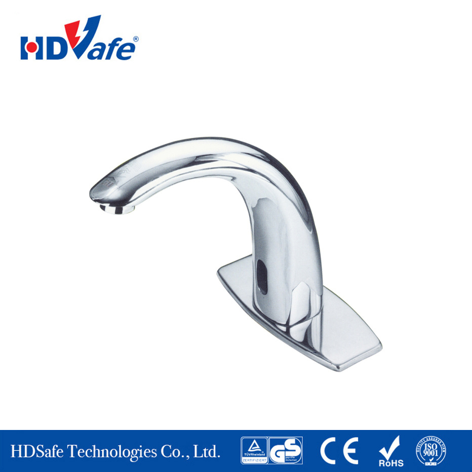 LED Automatic Sensor Touchless Motion Activated Hands-Free Hot Cold Faucet Bathroom Supply Bathroom Water Tap