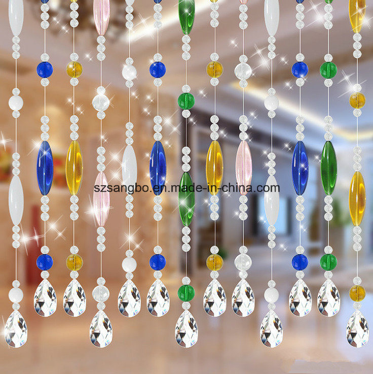 Glass Bead Curtain for Door or Window or Decoration