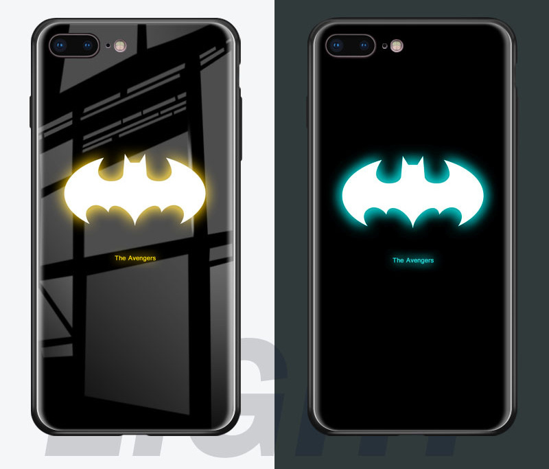 purchase cheap 0165a ab364 [Hot Item] for iPhone 9 Plus Case for iPhone9 New 3D Luxury Luminous Clear  TPU Silicone Custom Printed Back Protection Mobile Phone Shell Ypf69