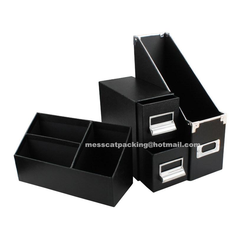 China A4 Fashion Handmade Designer Paper Cardboard Decorative Office Stationery File Folder
