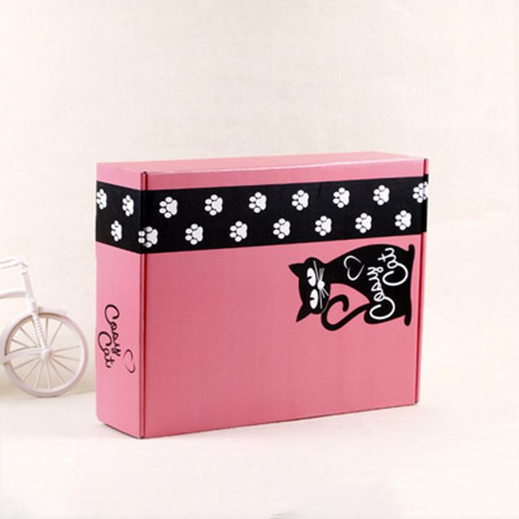 China Custom Decorative Boxes Cardboard Shipping Boxes