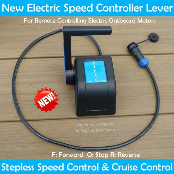 Kayak Outboard Speed Switch Electric Trolling Motor Speed Adjuster On-off