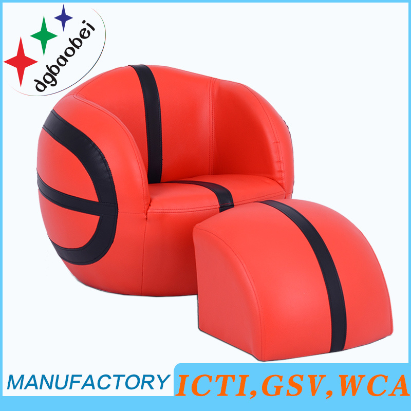 Football Chair with Ottoman Children Furniture (SF-127) pictures & photos