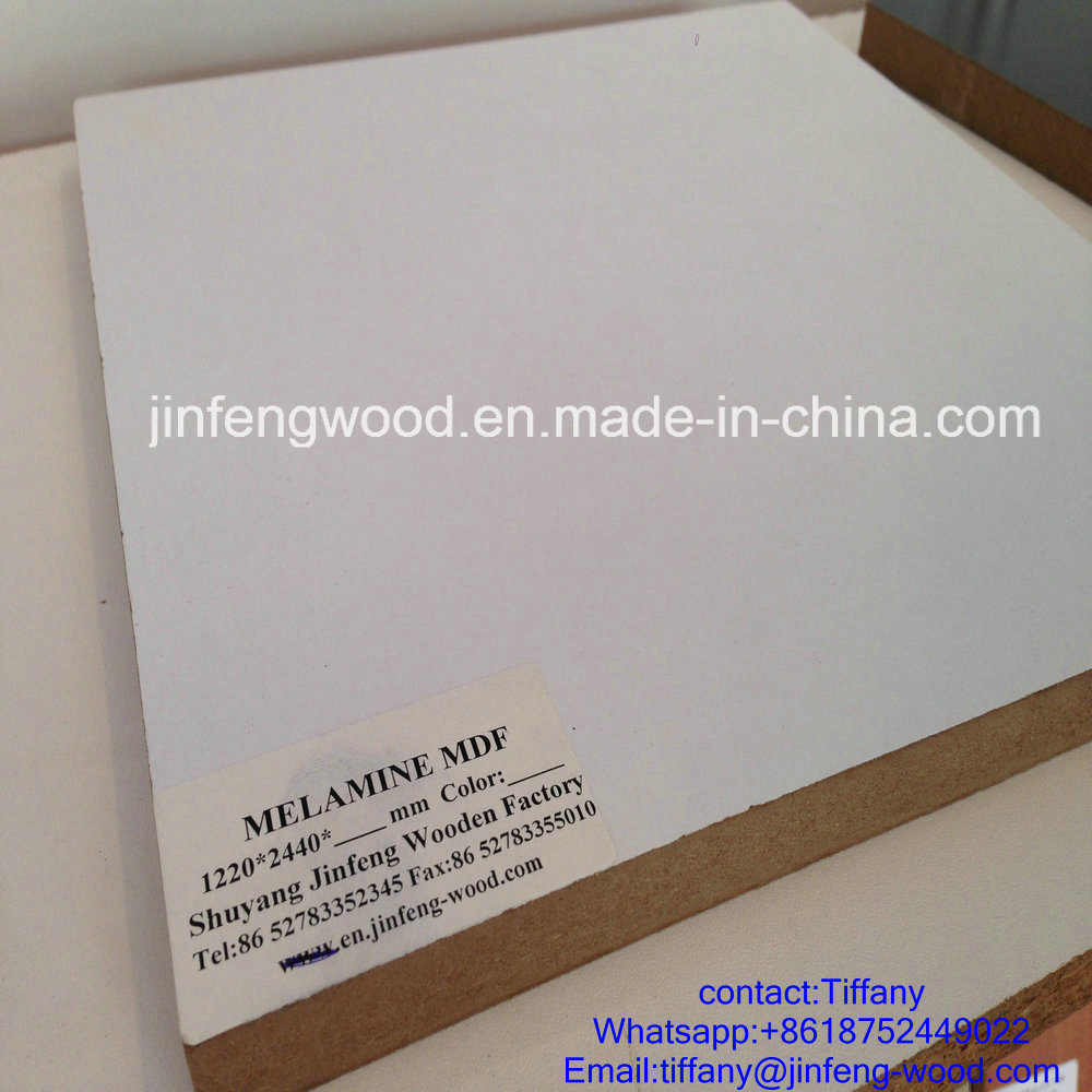 Beech Color Furniture Board Melamine Laminated MDF Board Melamine Faced MDF Melamine Particle Board pictures & photos