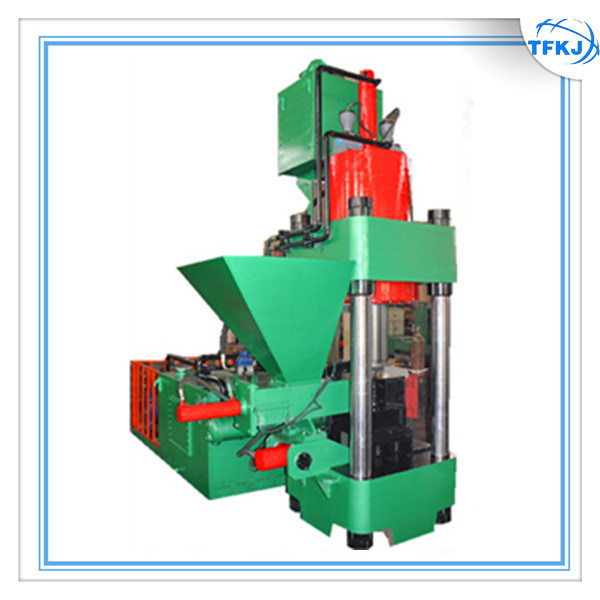 Y83-6300 Hydraulic Scrap Chips Metal Press Machine
