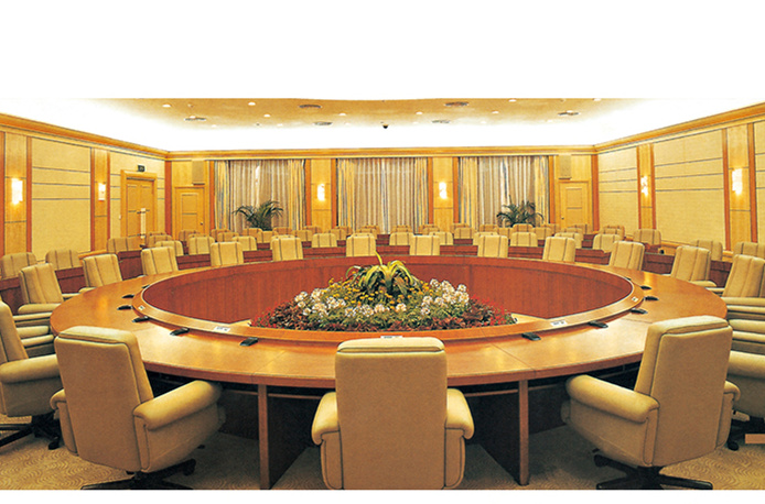 China High Quality Wooden Conference, Round Table Confrence