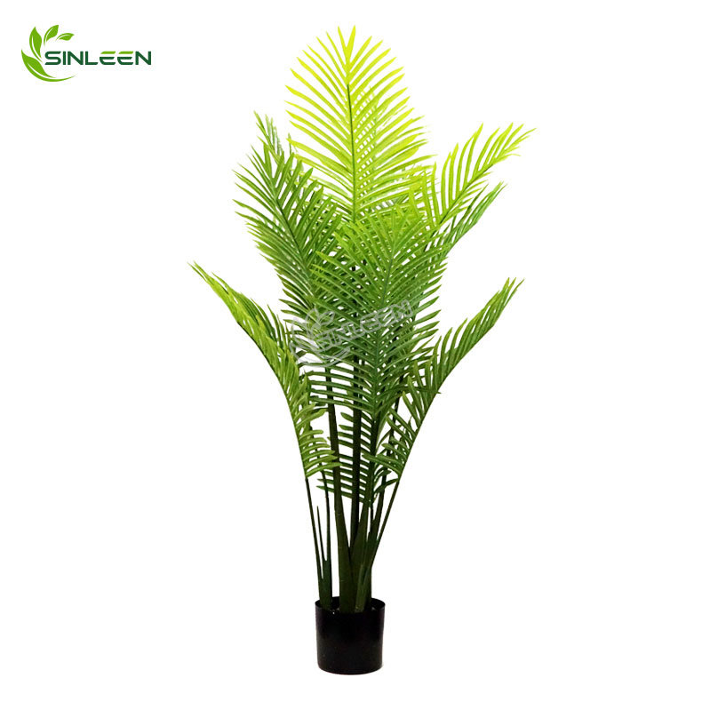 China 2020 Shenzhen Cheap Indoor Decor Artificial Leaf Plastic Coconut Palm Tree China Artificial Palm Tree And Palm Tree Price