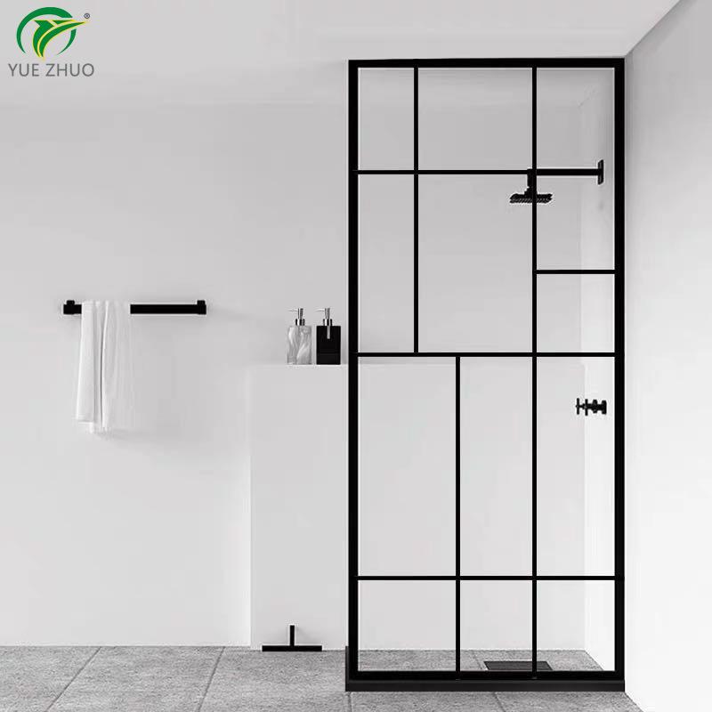 China Tempered Glass Door Shower, Fiberglass Shower Stall With Glass Door