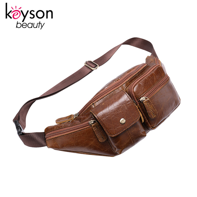 Waist Bag fanny pack waist bag for men men bag leather travel fashion waist cool