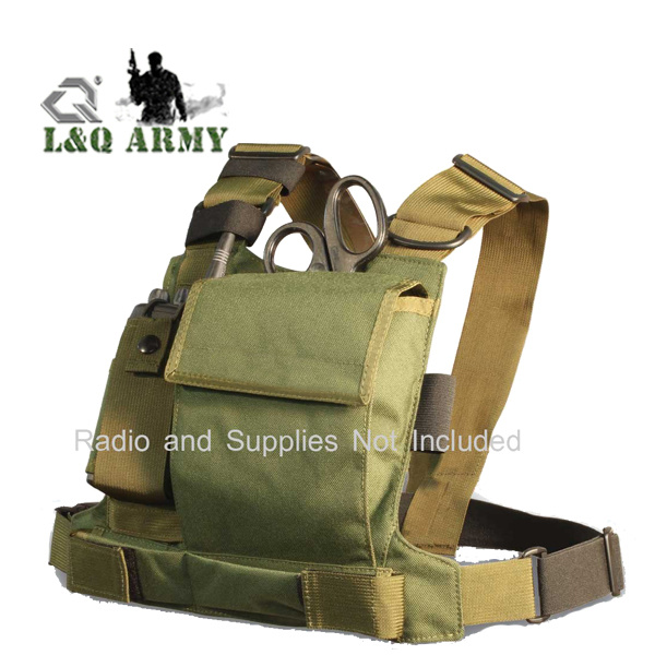 d75b0ef714a6 [Hot Item] Tactical Tool Chest Radio Chest Harness
