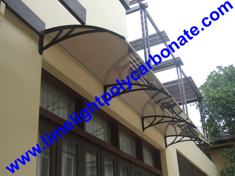 China DIY Awning Door Canopy Polycarbonate Window Kit Shelter