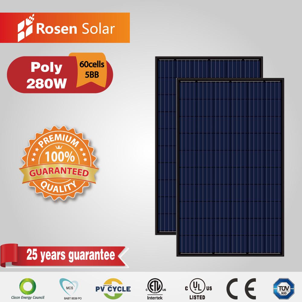 [Hot Item] Jinko Solar Price Per Watt Solar Panels 280W