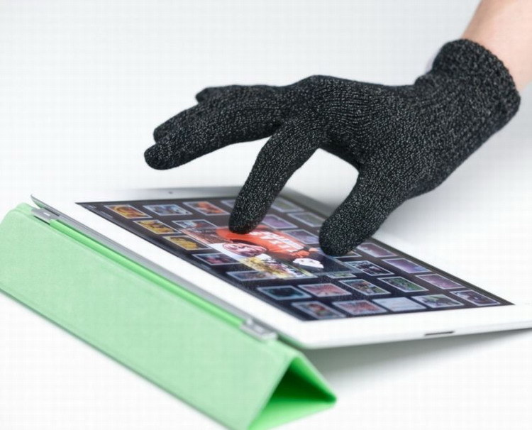 Full Siver Touch Screen Glove