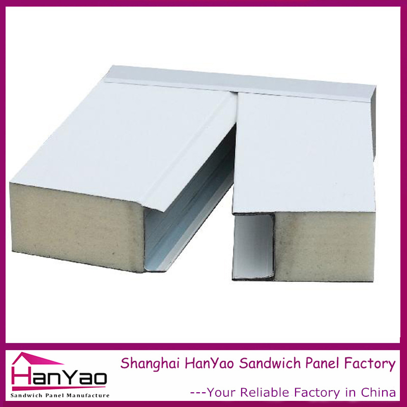 [Hot Item] Color Steel Polyurethane PU Sandwich Panel Wall Board Insulation  Cleanroom Panels
