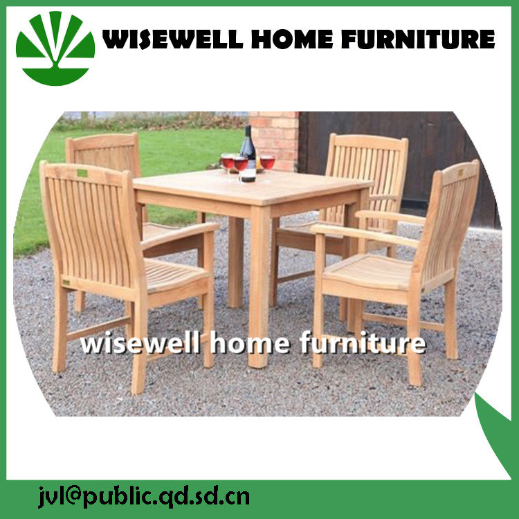 China Swisher Dining Furniture Set Seats 4 With An Square Dining Table China Outdoor Furniture Modern Furniture