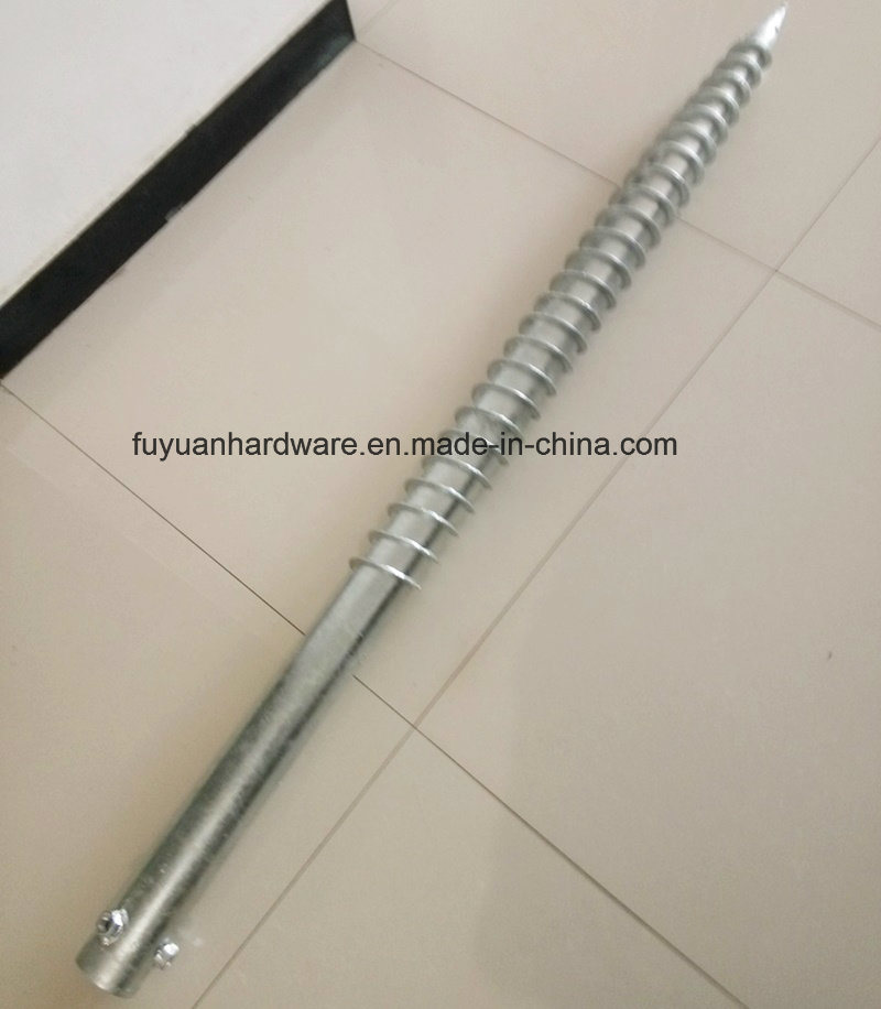 Hot Sale Steel Material Type Ground Screw