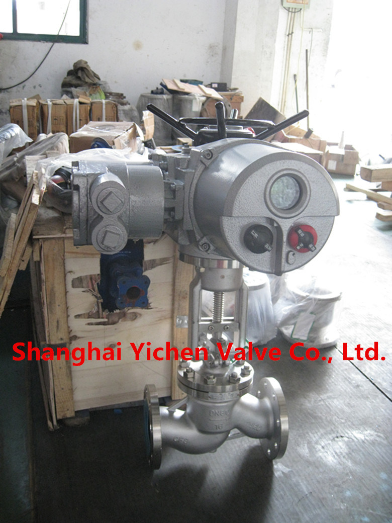 Electric Flange Type China Globe Valve (J941) pictures & photos