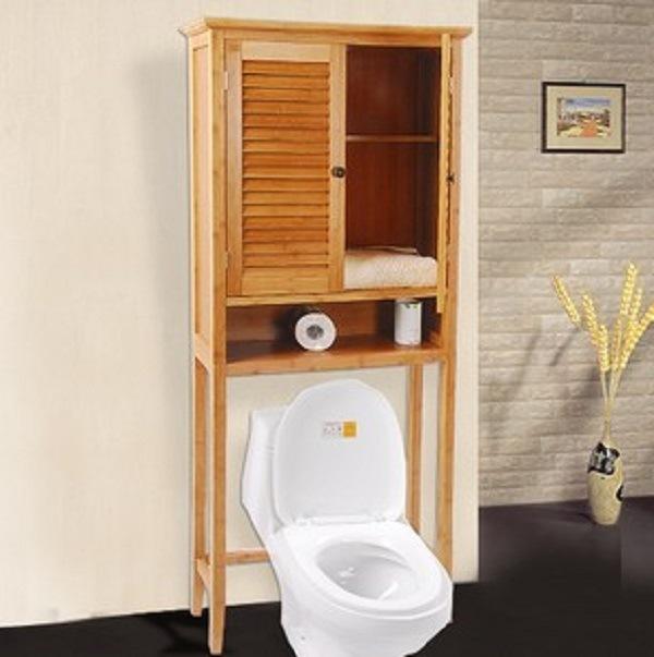 China Natural Bamboo Wall Storage, Bamboo Bathroom Wall Cabinet