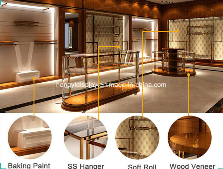 Clothing Shop Interior Design For Lady Clothes