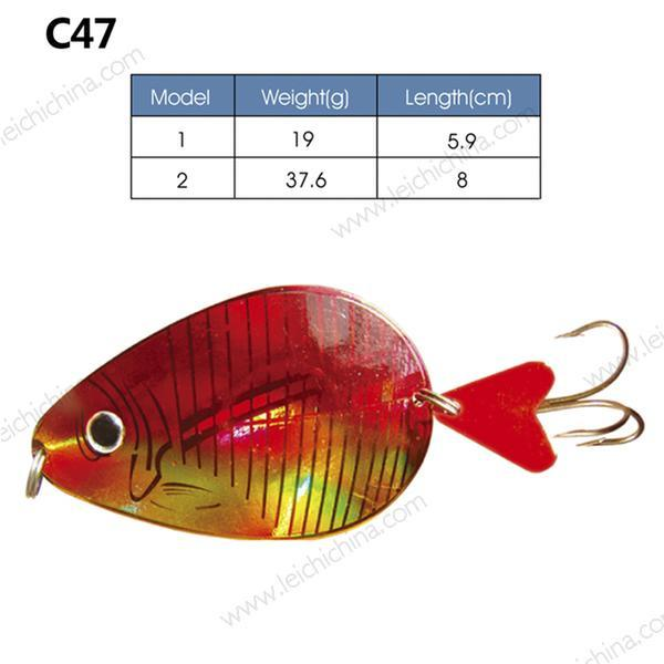 Hot Selling High Quality Metal Fishing Lure Spoon