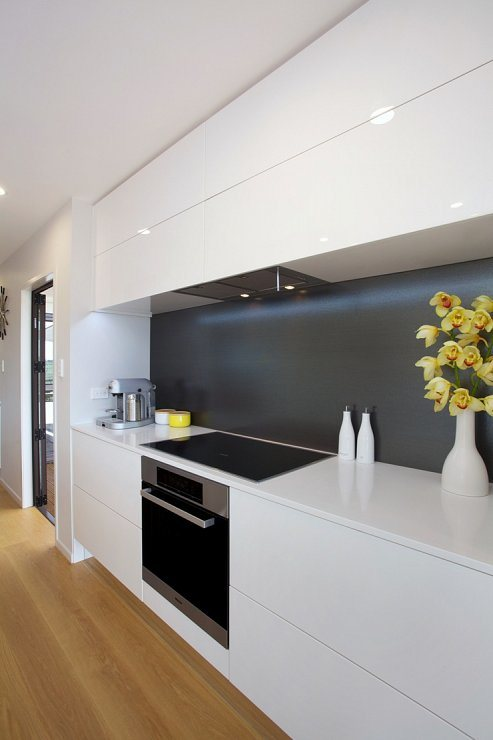 High Gloss Modern Custom MDF Kitchen Cabinet pictures & photos