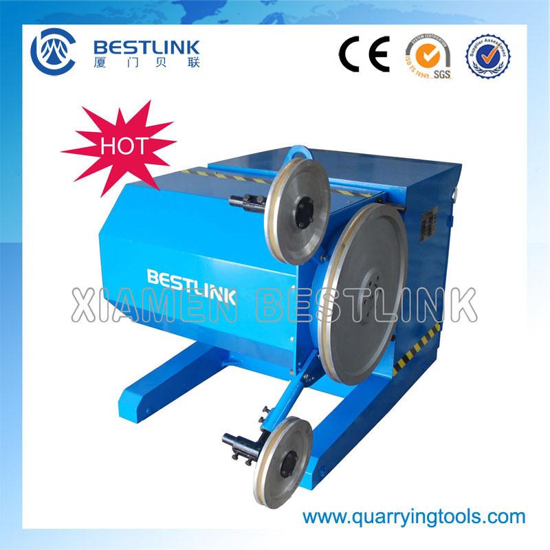China Diamond Wire Saw Cutting Machine for Marble and Granite Blocks ...