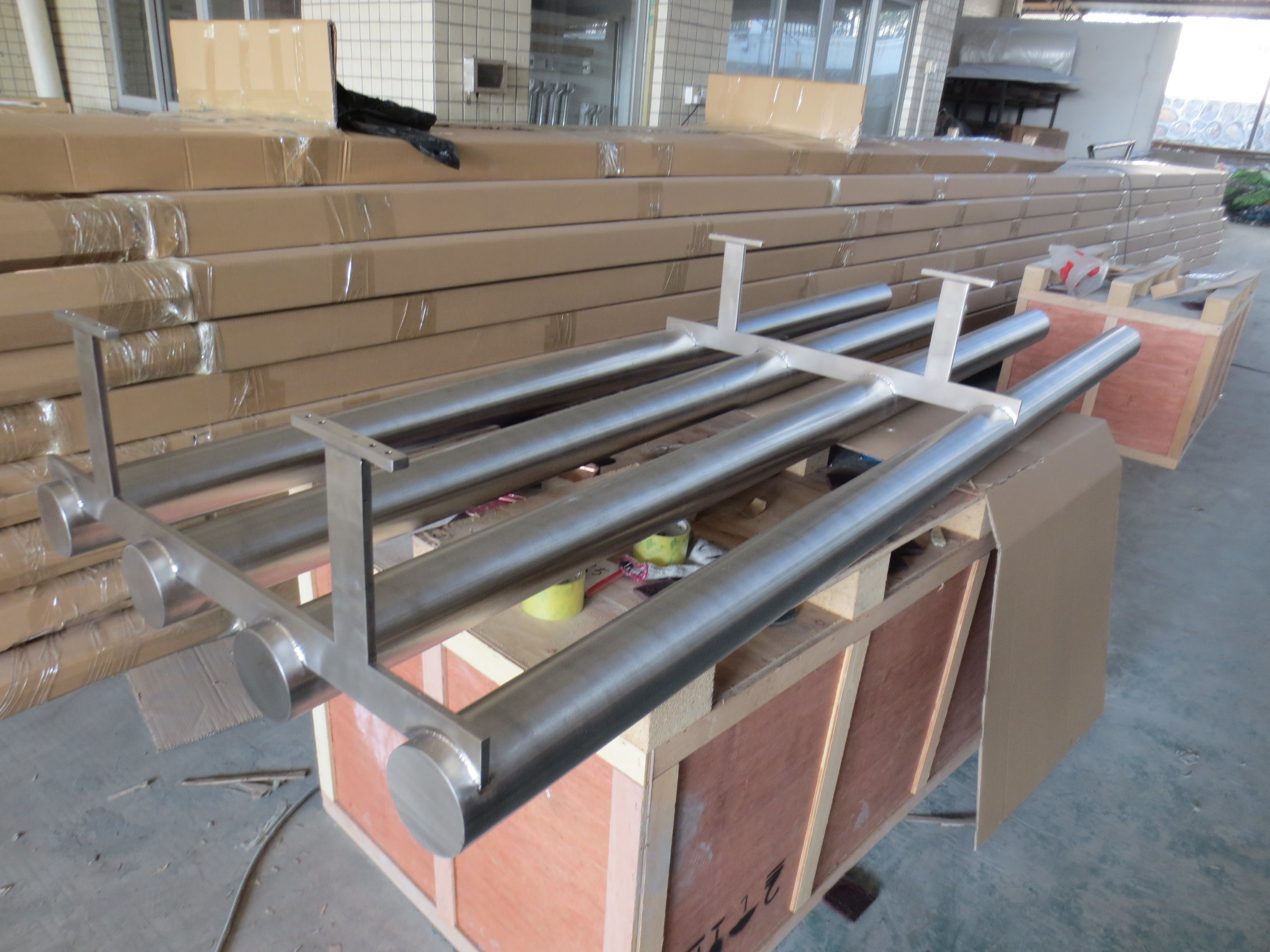 China Stainless Steel 304 Pipe Frame Structure - China Steel Frame ...
