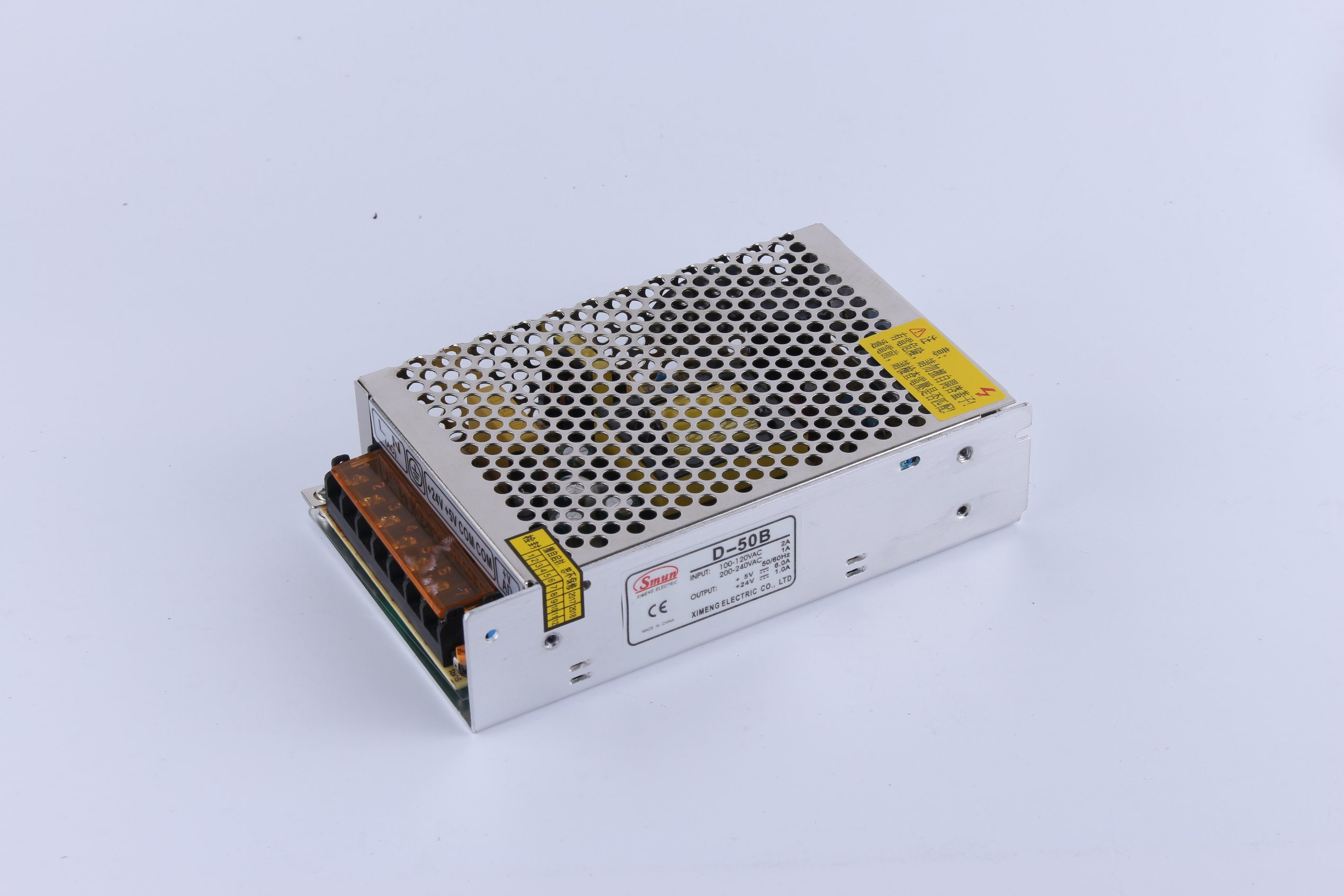 China Smun D 50b 5vdc 24vdc Dual Output Switching Power Supply Smps To 12v And Isolated
