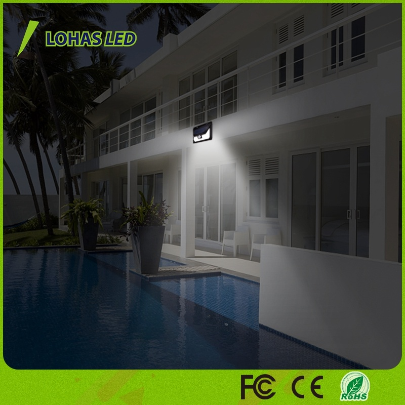 LED Waterproof Solar Motion Sensor Outdoor Light with Motion Activated Auto on/off for Deck, Front Door, Patio, Backyard, Garden, Solar Light pictures & photos