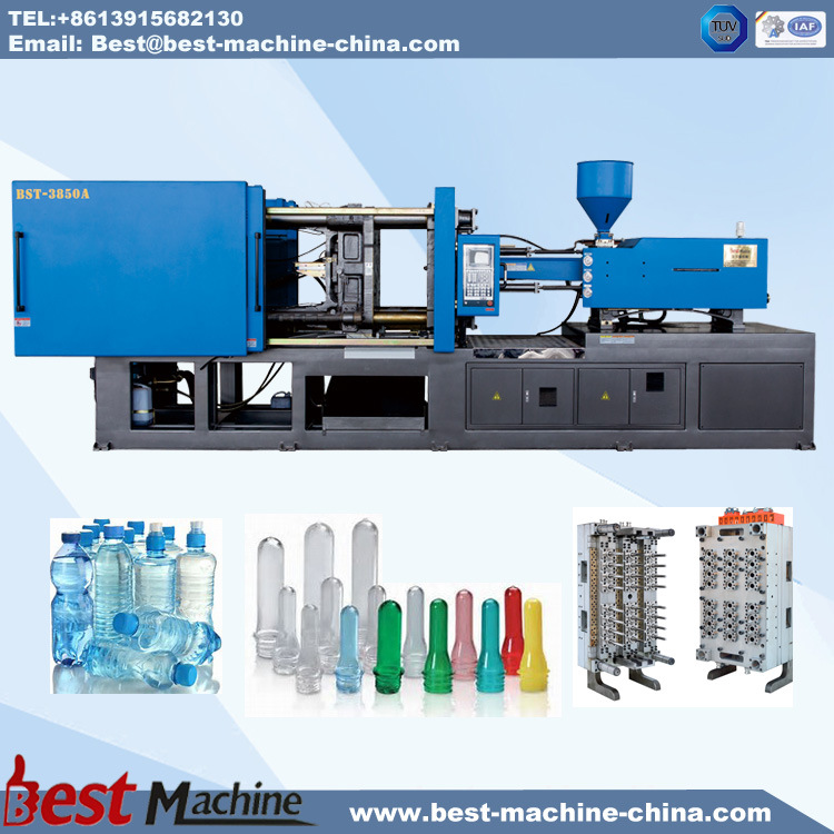 [Hot Item] Plastic Bottle Preform and Cap Injection Moulding Making Machine