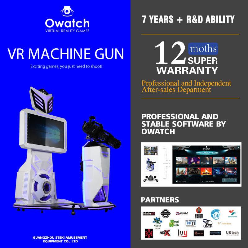49574c9a0b90 Vr Gatling 9d Shooting Vr 360 Degree Gun Fighting Virtual Reality Simulator  with Vive Headset