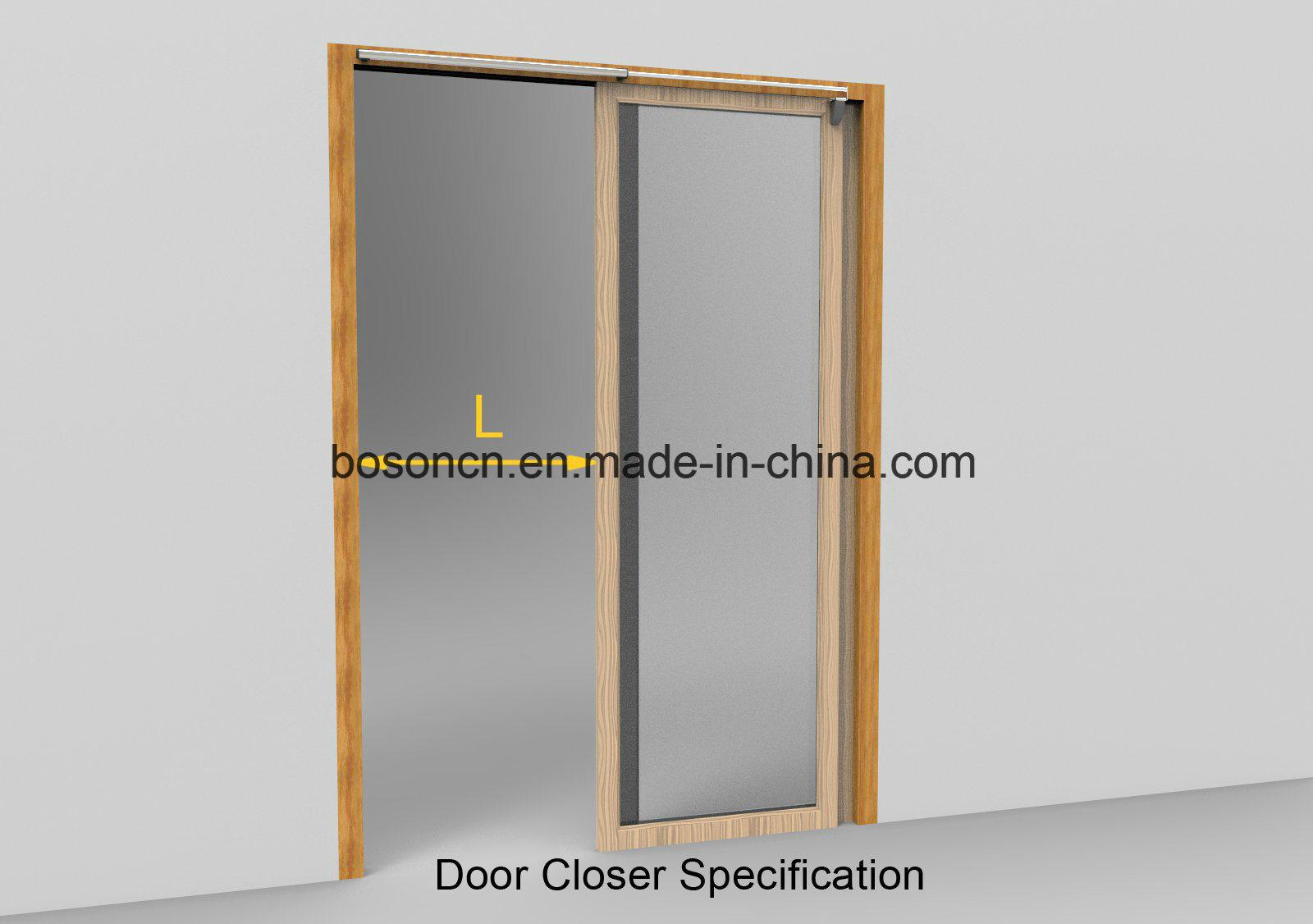 China Semi Automatic Cabinet Cupboard Chest Sliding Door Closer