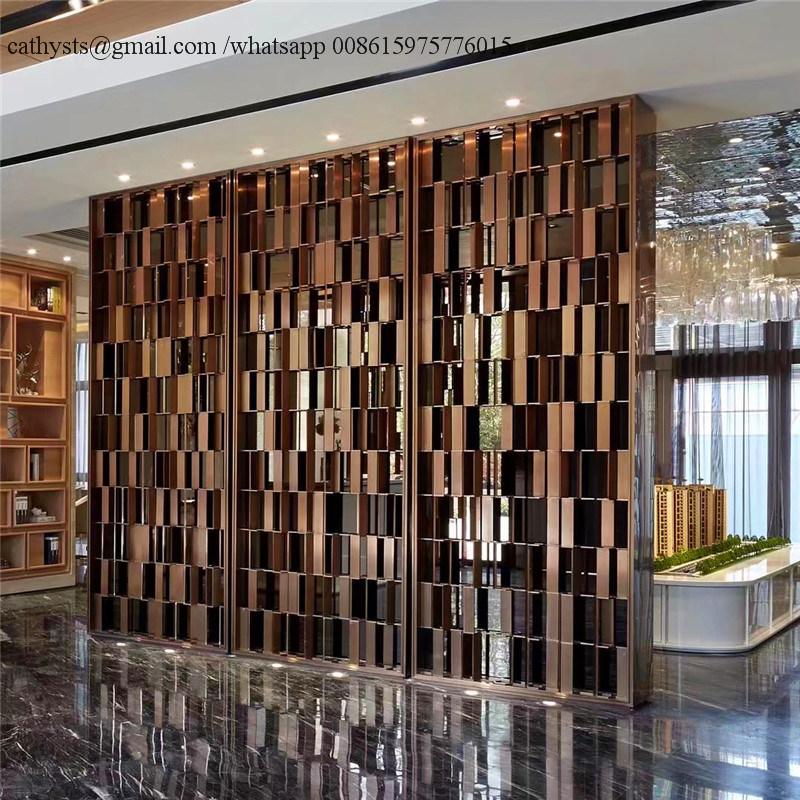 China Modern Huge Metal Screen For Decorative Panel