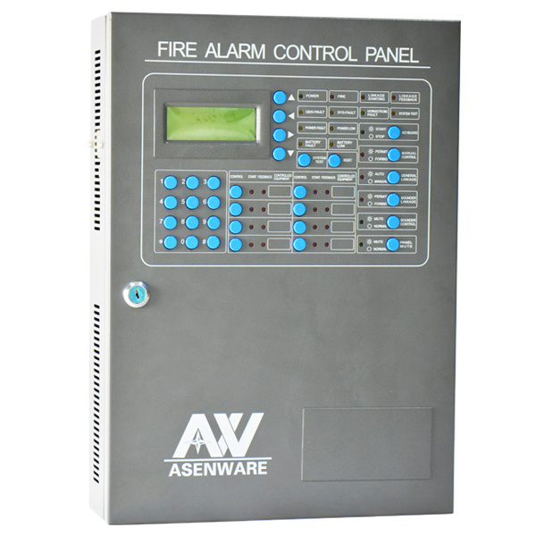China Anolog 2-Wire Bus System Addressable Fire Alarm Panel - China ...