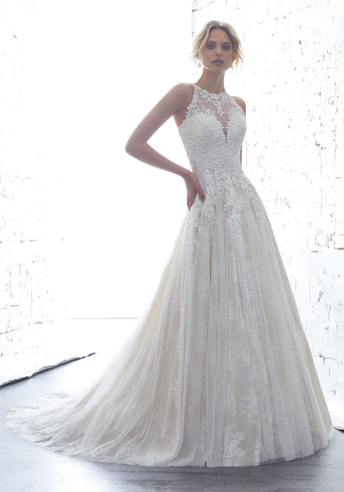 b88b0e7569 China Sheer Lace Bridal Gowns Sleeveless 2018 Beach Wedding Dresses ...